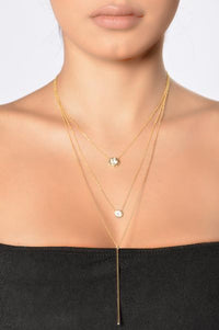 Rhine And Dine Necklace - Gold