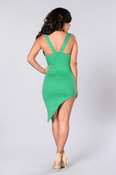 Sweetest Sin Dress - Grass Green