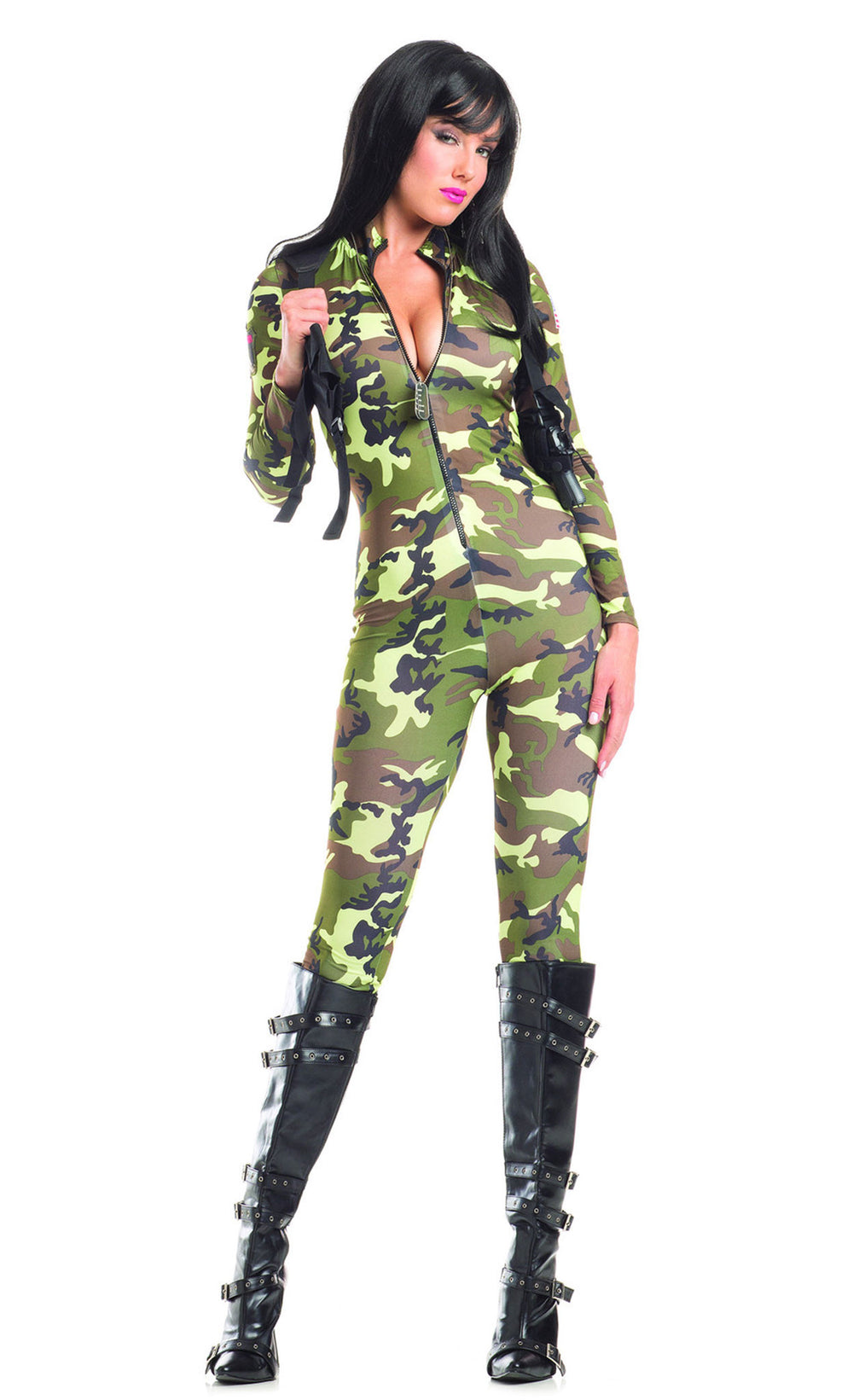 Tantalising Trooper Costume - Camo