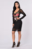 Unfaithful Dress - Black
