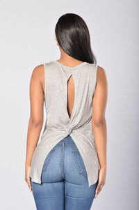 Tolerant Tank Top - Heather Grey