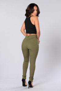 One Hit Wonder Pants - Olive Angle 6