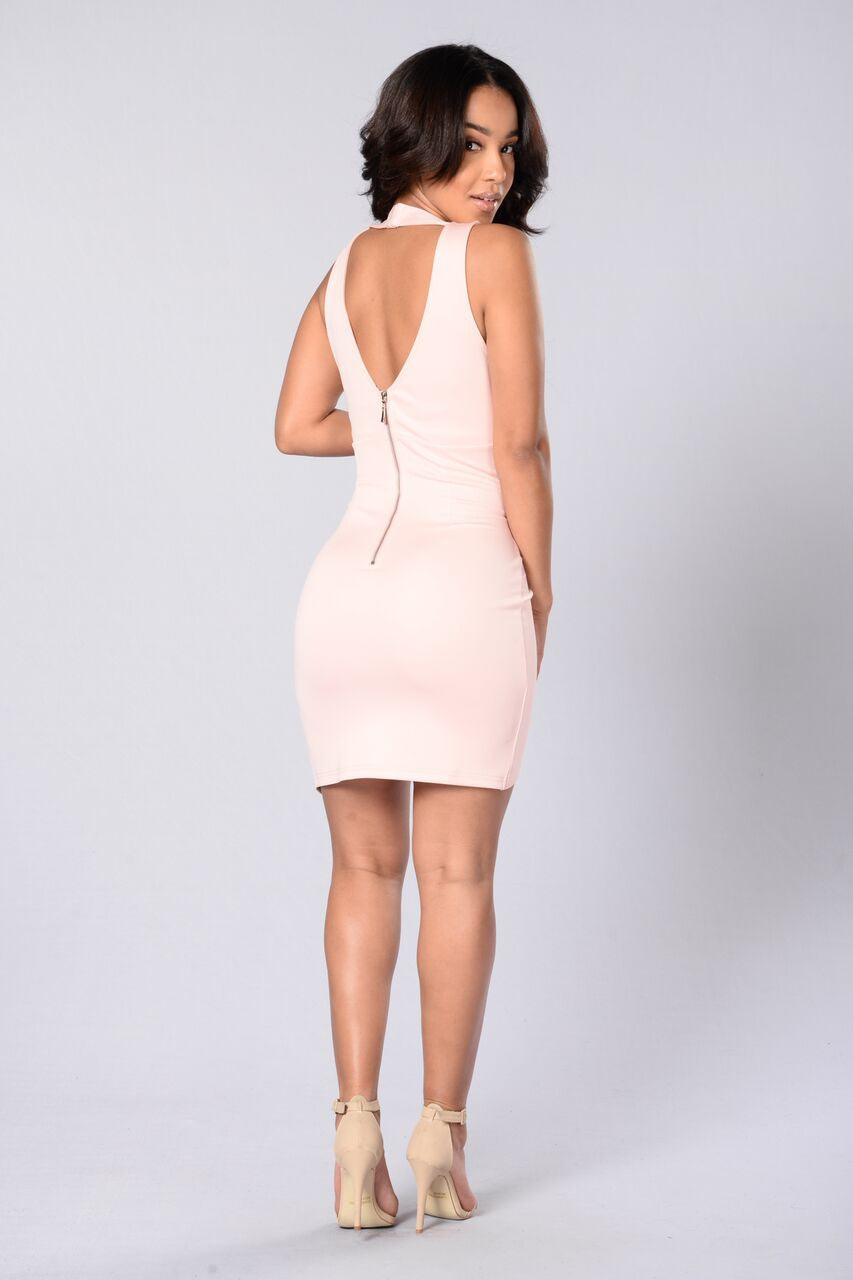 Mirage Dress - Blush