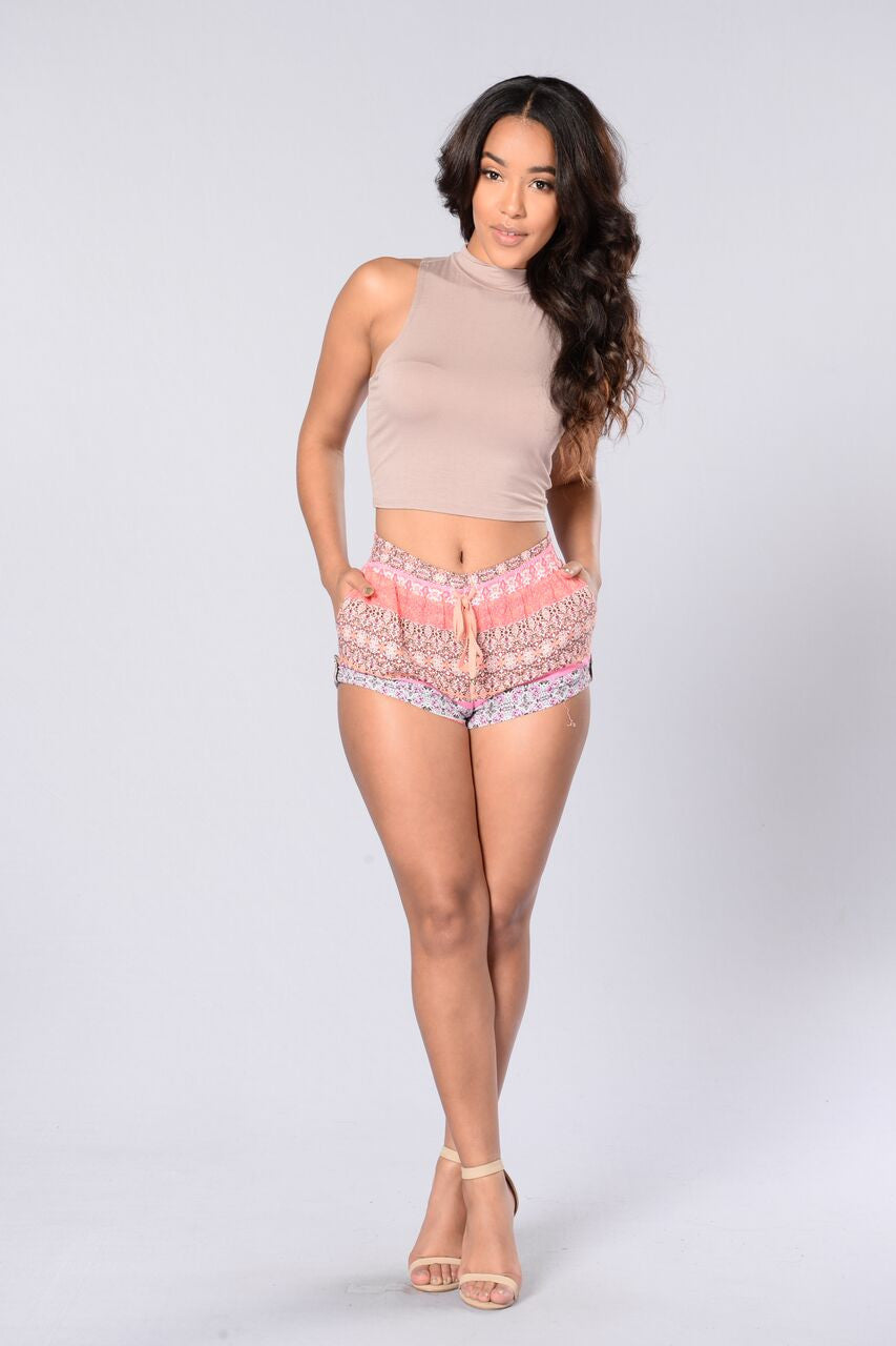 Morocco Shorts - Pink