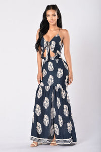 Doheny Dress - Navy