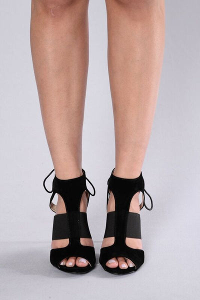 Pave the Way Heel - Black