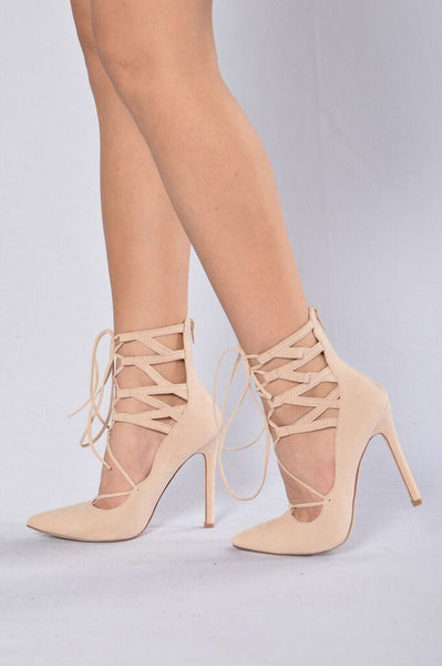 Crossing Paths Heel - Nude