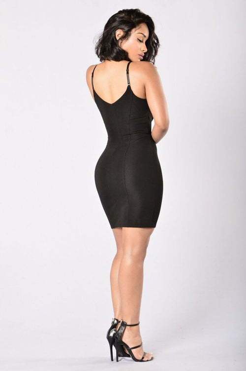 Hooked On Me Dress - Black