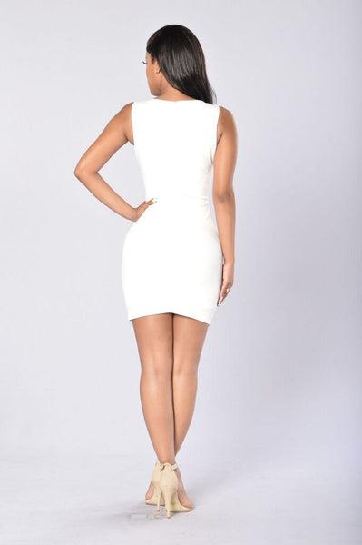 Glitz and Glam Dress - Ivory