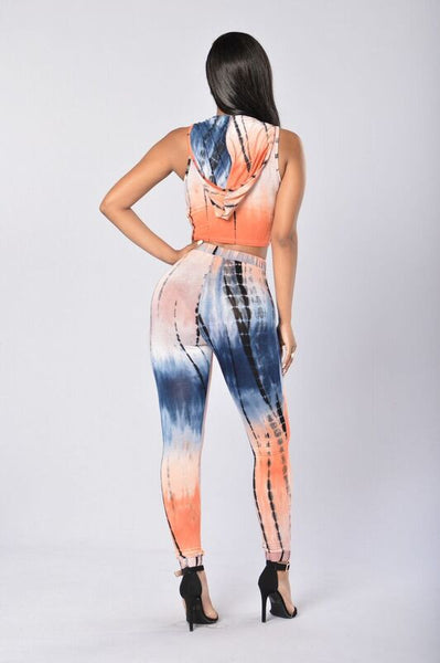 Good Vibes Leggings - Tangerine