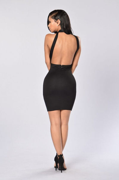 Va Va Voom Dress - Black