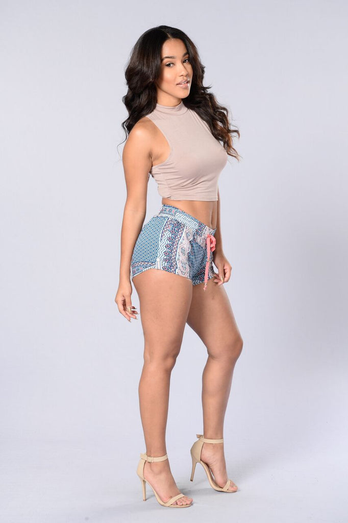 Morocco Shorts - Blue