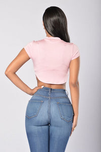 Baby Girl Top - Blush