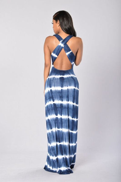 Relaxed To The Maxi Dress - Navy