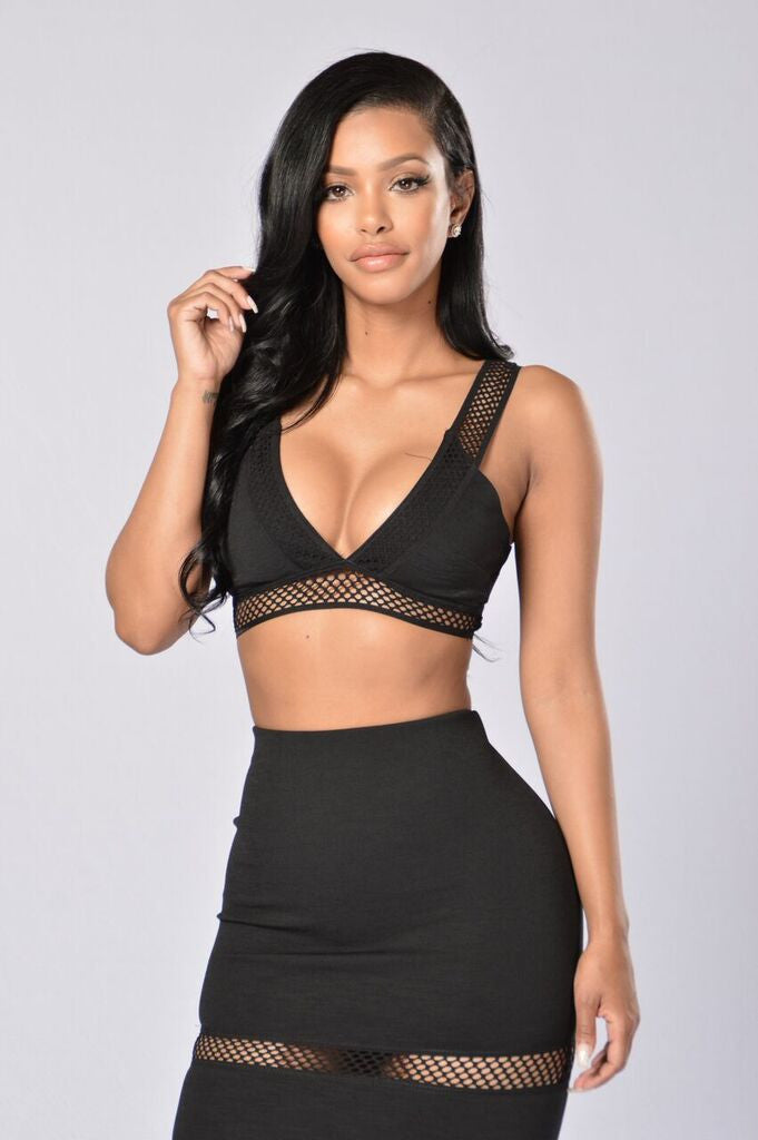 No Cover Top - Black