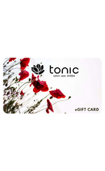 Tonic eGift Card (non-physical) $50
