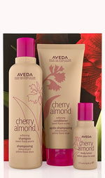 Cherry almond softening hair and body trio