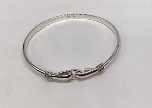 Sterling silver Cape Cod Circle bracelet