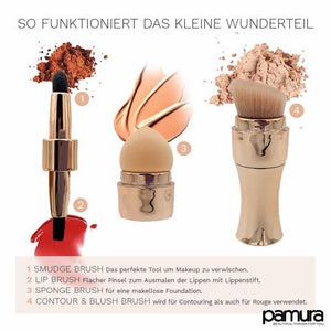 4-In-1 Makeup Wonder Brush (Genial Und Passt In Jede Handtasche) Pinsel