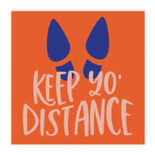 Load image into Gallery viewer, Boutique 'Keep Yo Distance' Floor Decals