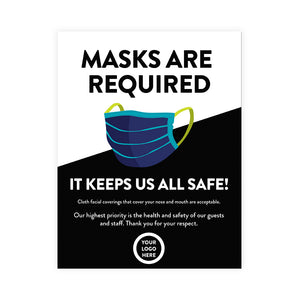 Masks are Required Poster