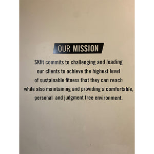 Mission Statement Decal 51x26