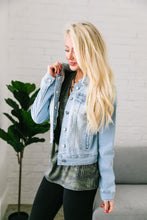 Load image into Gallery viewer, I See The Light Denim Jacket