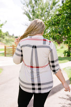 Load image into Gallery viewer, Posh Plaid Blouse