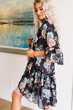 Load image into Gallery viewer, Roxy Kimono In Navy