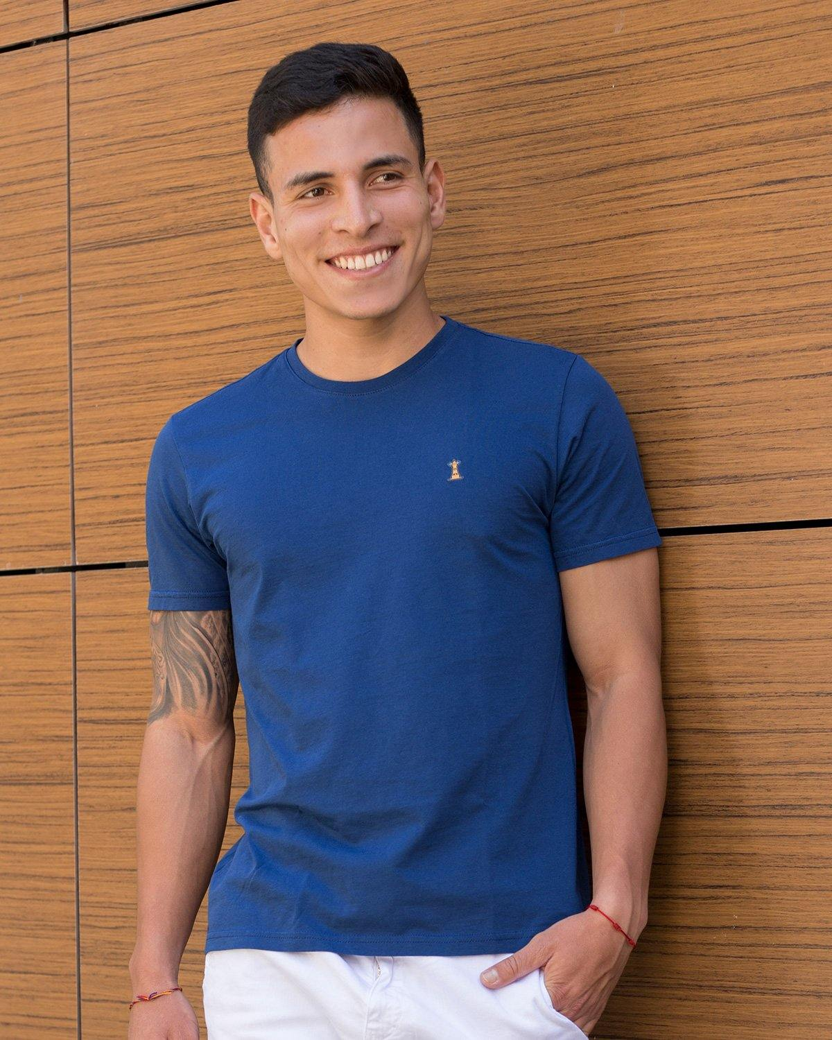 Camiseta Azul Rey / Regular Fit