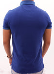 Polo Azul Rey / Slim Fit