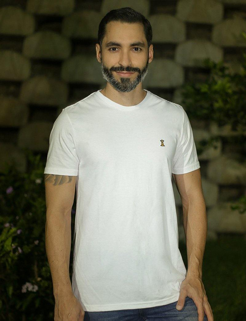 Camiseta Blanca / Regular Fit