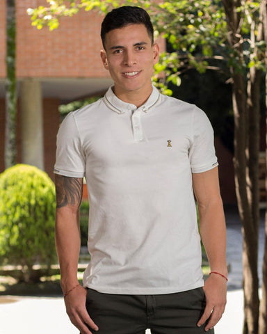 Polo Crema / Regular Fit
