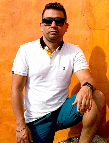 Polo Blanca / Slim Fit
