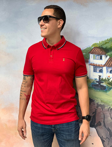 Polo Roja / Slim Fit