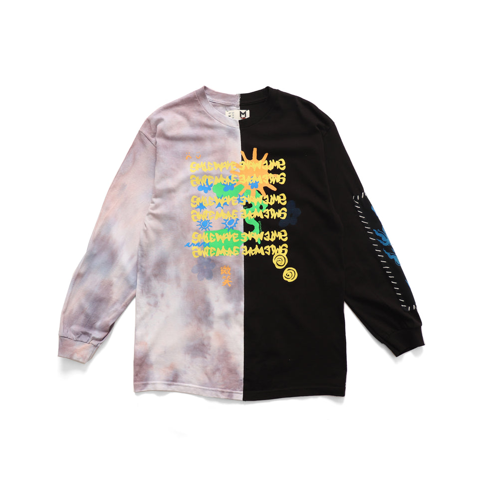 Nature Tie Dye Long Sleeve Tshirt