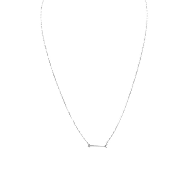 "16"" + 2"" Arrow Design Necklace"