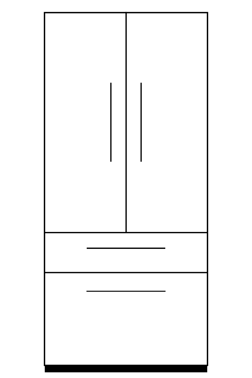 Fridge Part Illustration