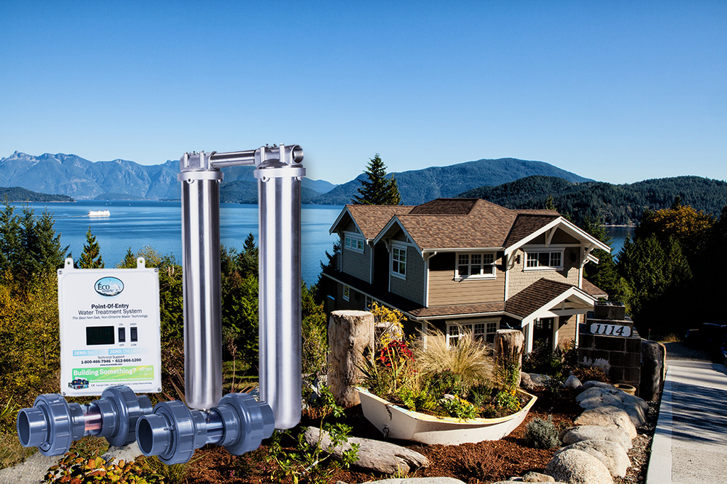 ECOsmarte Lake Home Dual Tank Stainless Steel Zero Backwash System