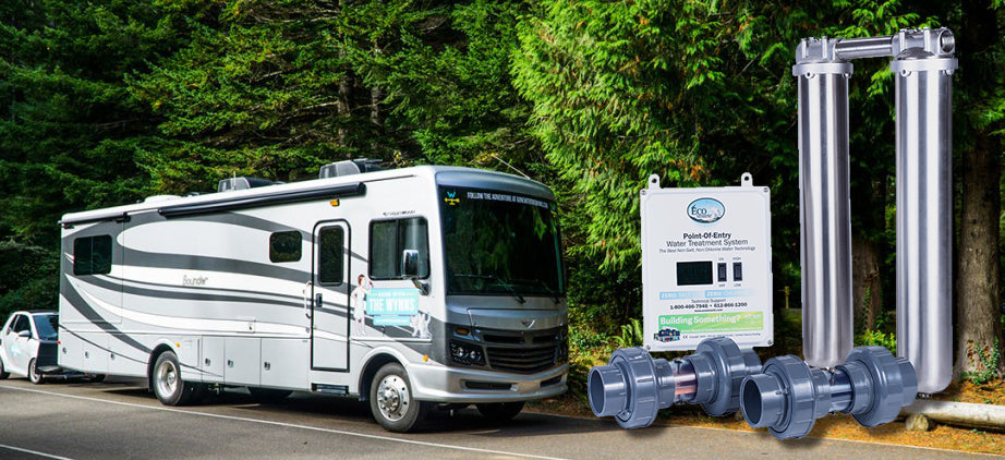 ECOsmarte RV/ Diesel Pusher Dual Tank Stainless Steel Zero Backwash System