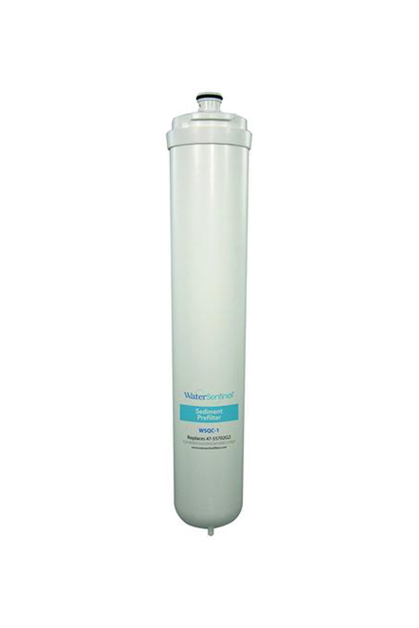 WaterSentinel Reverse Osmosis Sediment Prefilter Water Filter | WSQC-1