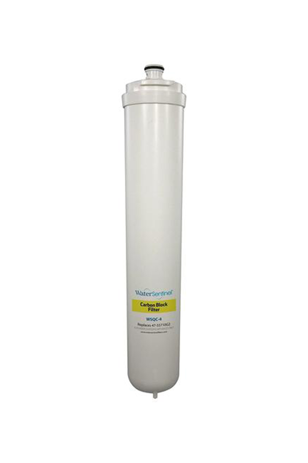WaterSentinel Reverse Osmosis Carbon Block Water Filter | WSQC-4