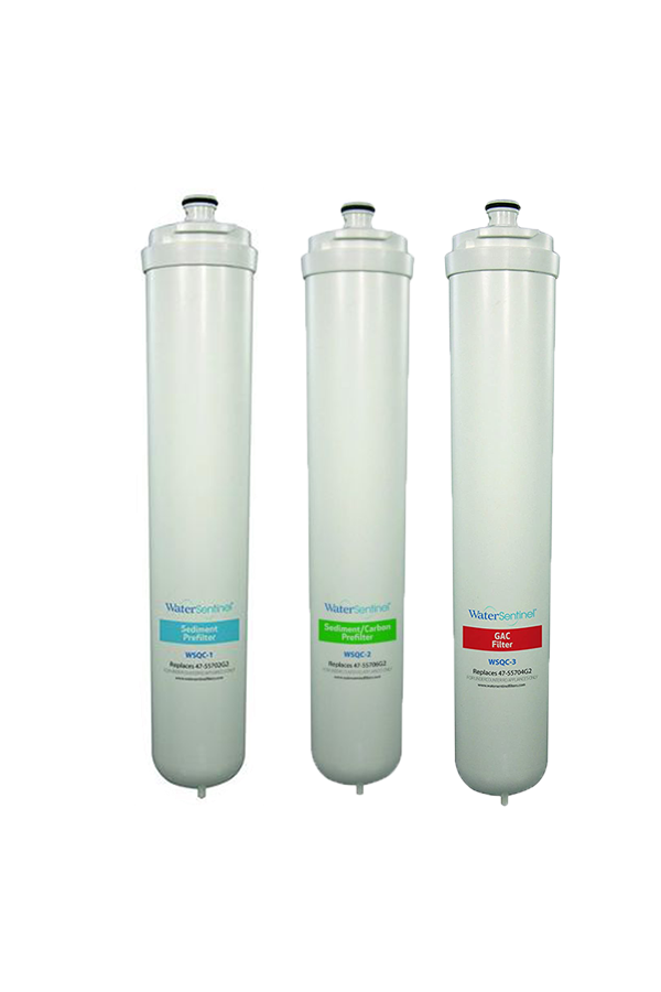Reverse Osmosis System Filter Cartridge Set of Three | SQC4