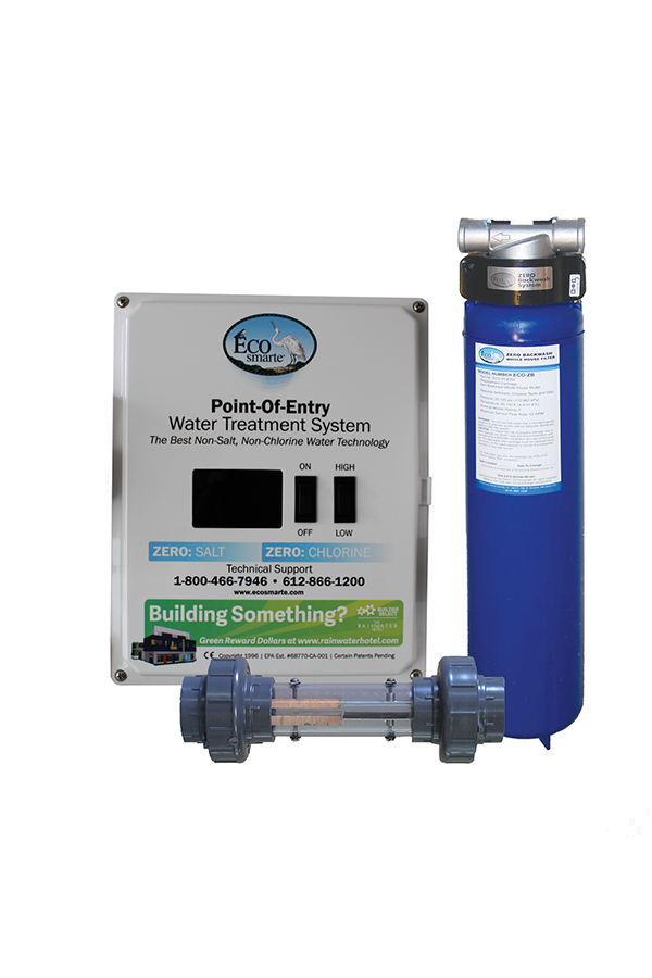 Fine Filtration for particulate water treatment of: chemicals, fluoride, chlorine, bacteria, cysts, protozoa, mold, fungus, for small homes, townhomes, houseboats, Yachts, and apartments.  100,000gal filter Life.