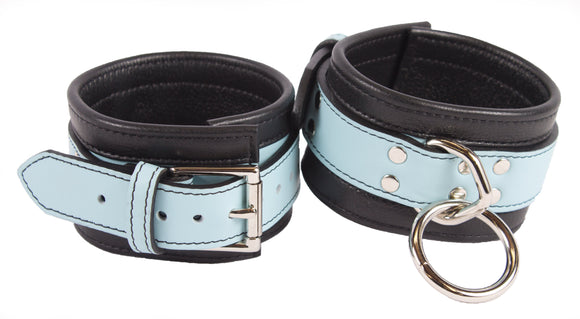 baby blue ankle cuffs