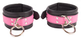 PINK ANKLE CUFFS