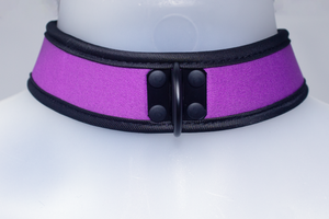 Neoprene Collar Purple