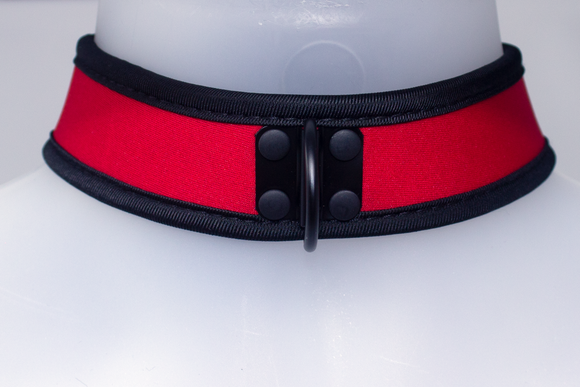 Neoprene Collar Red