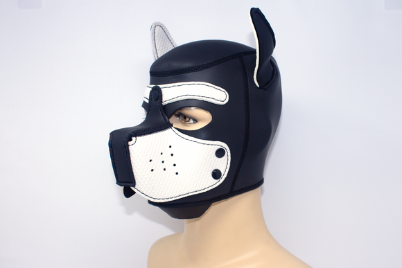 Puppy Neoprene Hood White