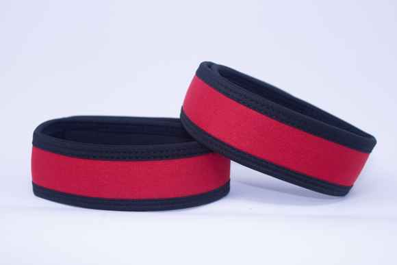 Neoprene Armbands Red